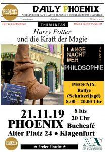 Lange Nacht der Philosophie Harry Potter Phoenix